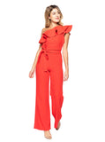 Gia One Shoulder Jumpsuit