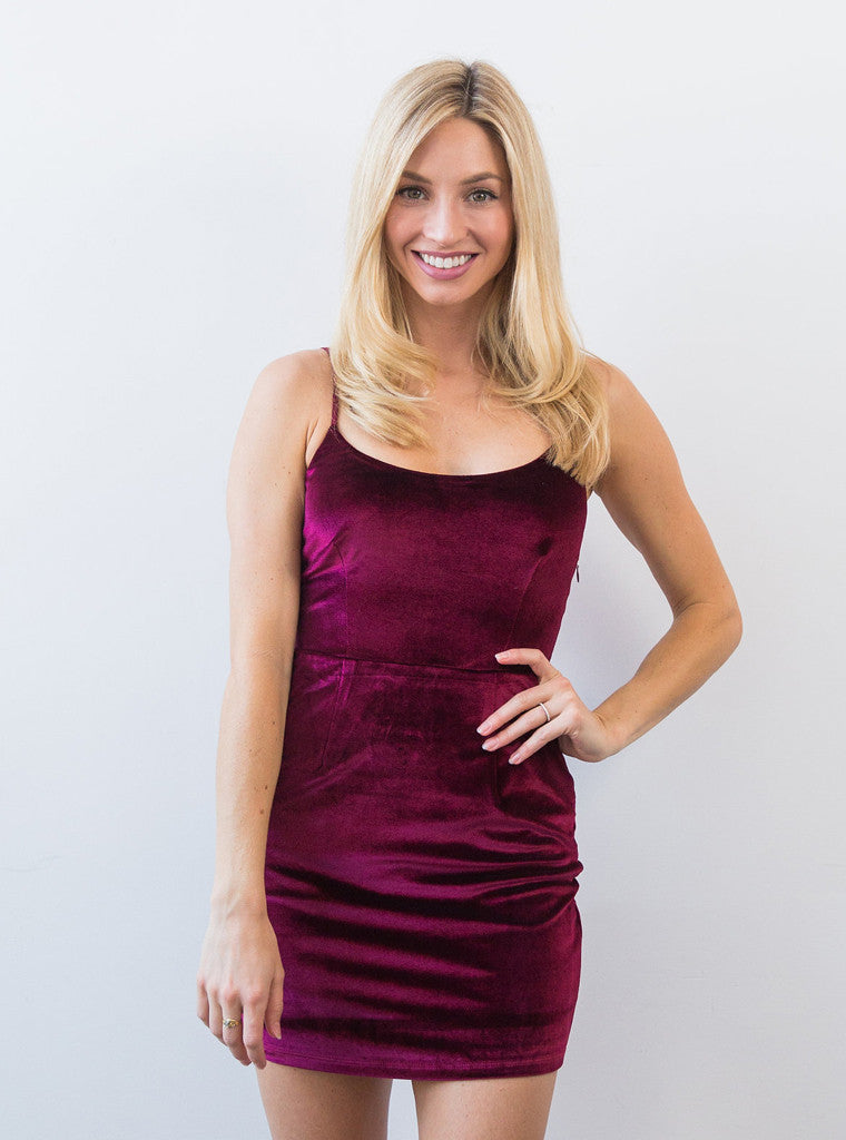 Brooke Dress Merlot