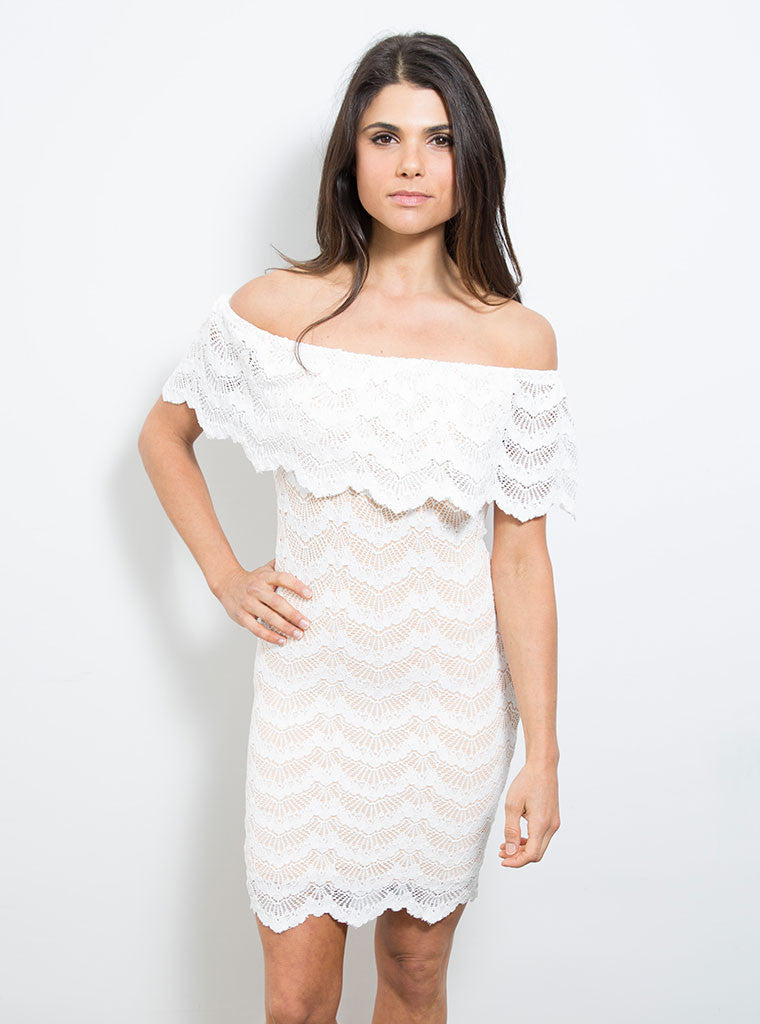 Bachelorette Mini Dress White