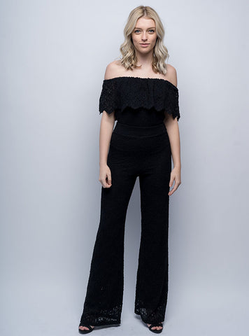 Positano Jumpsuit Black