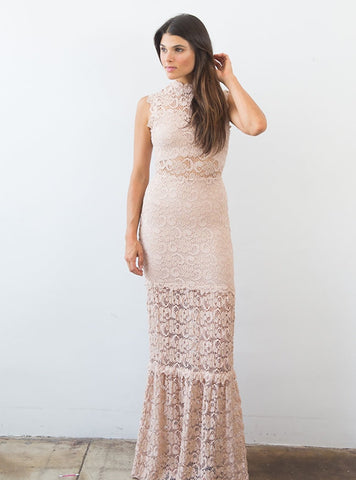 Dixie Lace Maxi Nude For Sale