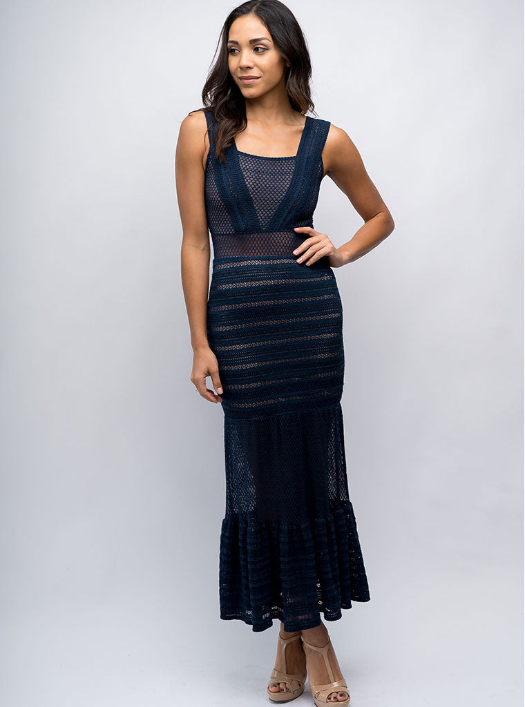 Martini Gown Navy