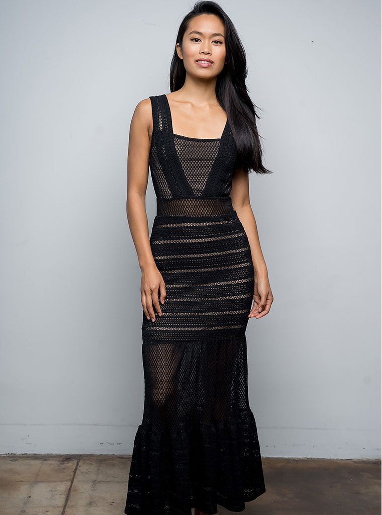 Martini Gown in Black