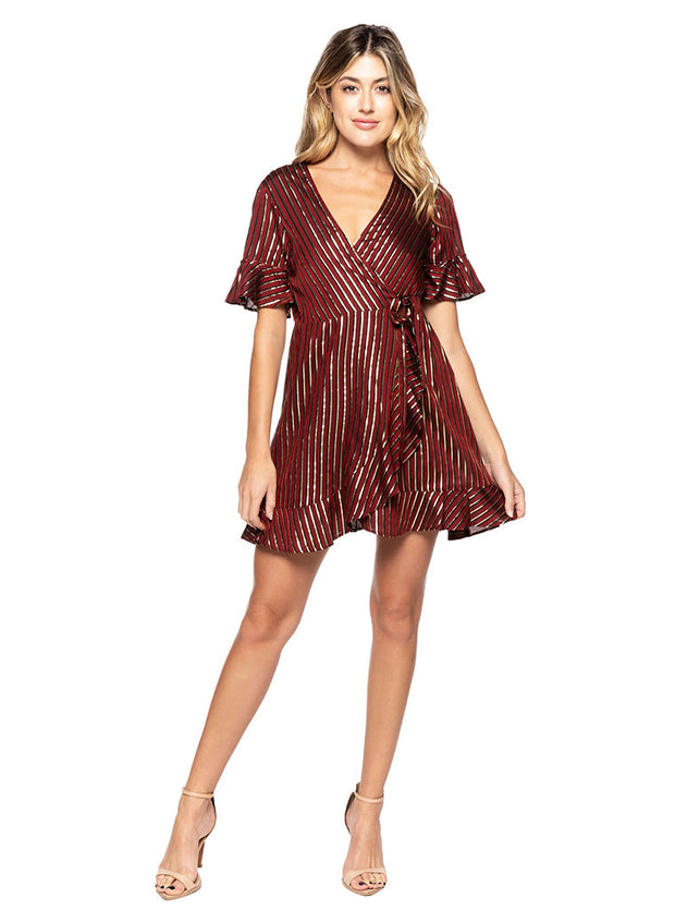 Leslie Wrap Dress