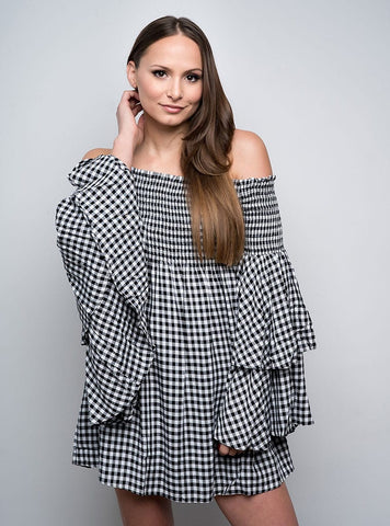 Krissie Gingham Dress