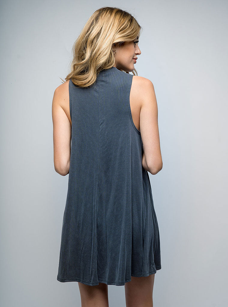 Kala Tank Dress Grey