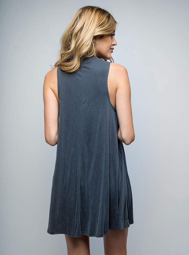 Kala Tank Dress Grey For Sale