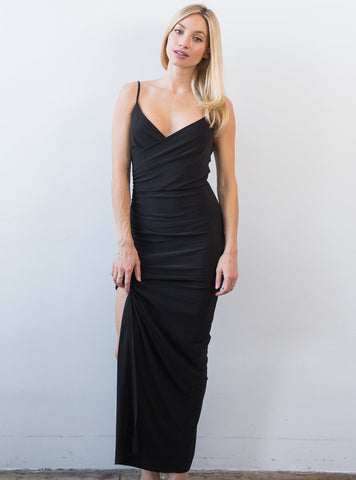 Slip Gown Black