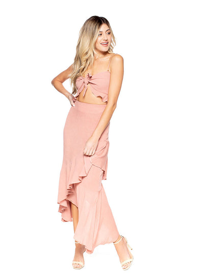 Michelle Maxi Crinkle Pink
