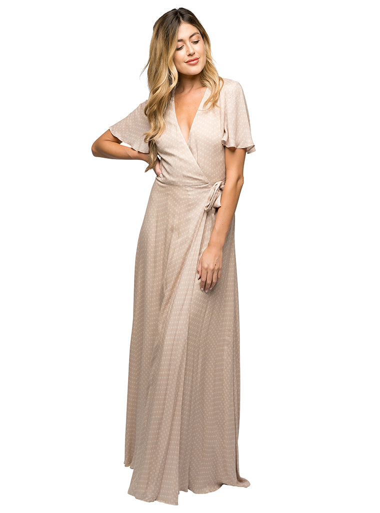 Mohea Maxi Wrap Dress