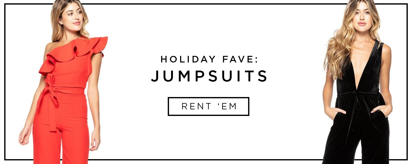 Holiday Jumpsuits for Rent