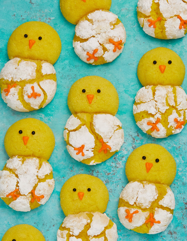 Chick Crinkle Cookies
