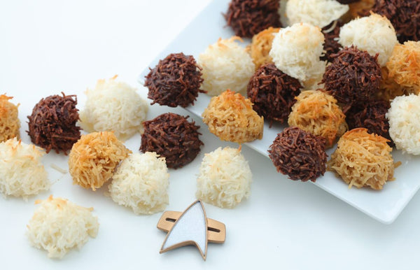 Star Trek Tribble Macaroons