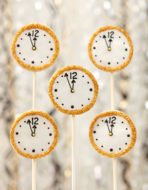 Countdown Cookie Pops
