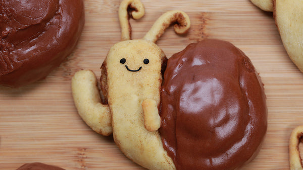 Adventure Time Snail Cinnamon Rolls
