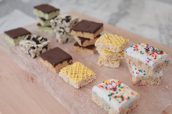 5 DIY Rice Krispies Treats