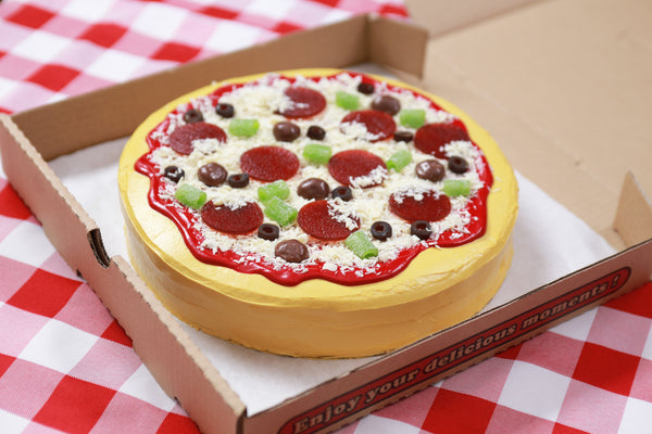 How to make a Cake Pizza
