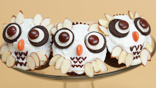 Harry Potter Owl Cupcakes
