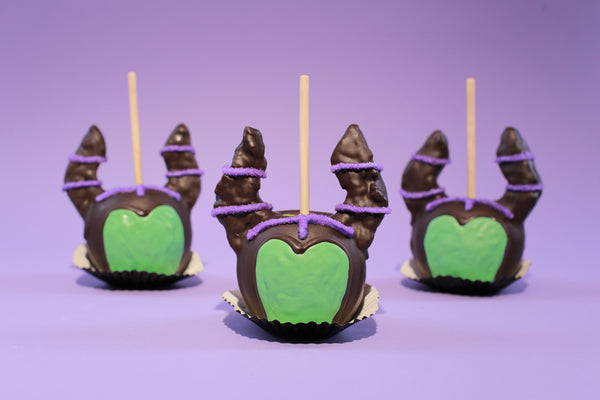 Maleficent Candy Apples
