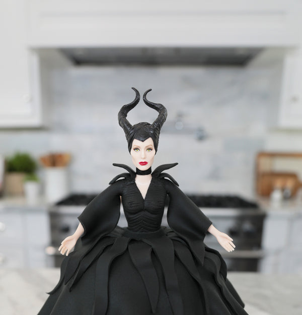Maleficent Princess Cake