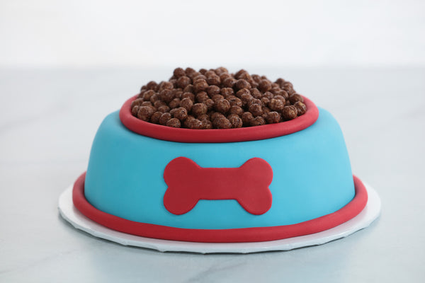 Paw Patrol Dog Food Cake