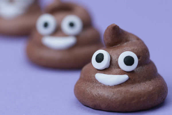 Poo Emoji Meringue Cookie
