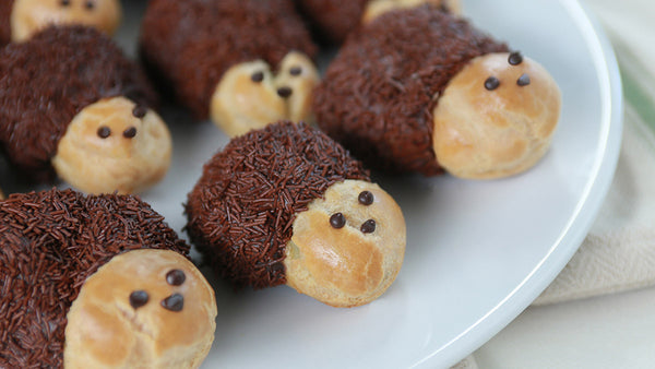 Hedgehog Cream Puffs