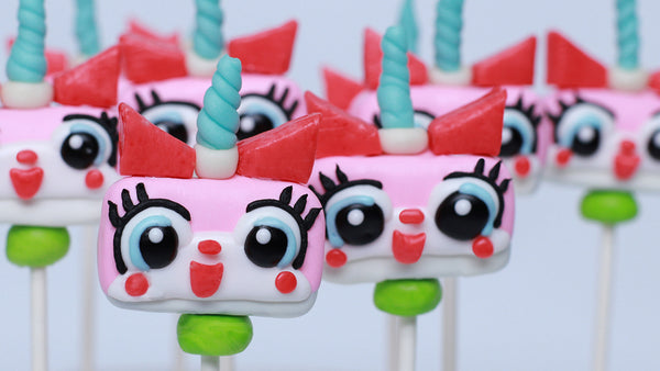 Unikitty Snickers Pops