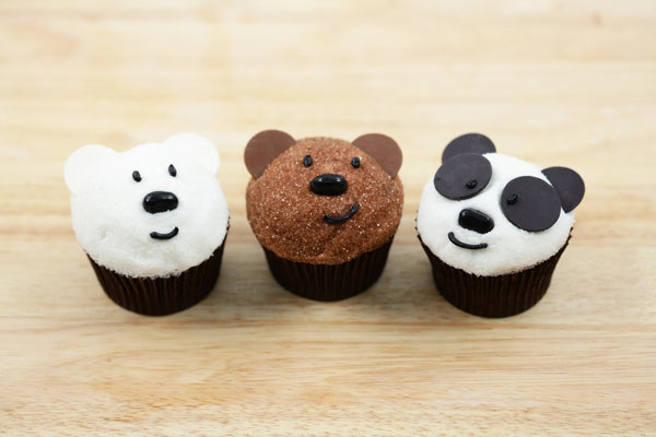 We Bare Bears Cupcakes