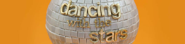 Dancing with the Stars Mirror Ball Cake