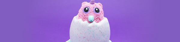 Hatchimals Cotton Candy Cake