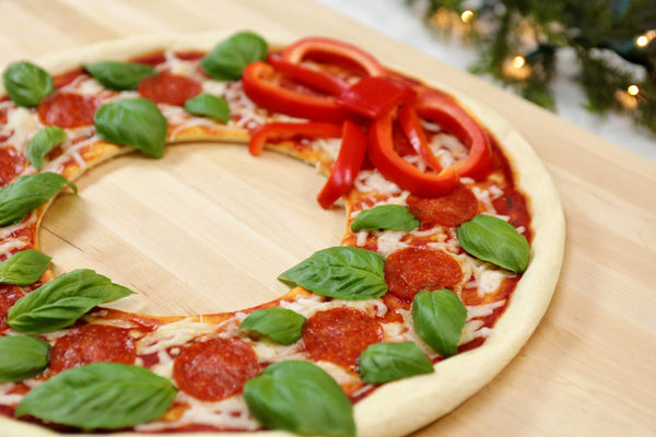 3 Holiday Pizzas