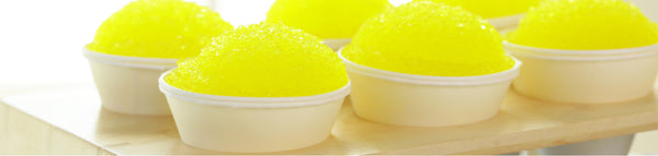 Lemon Snow Cones