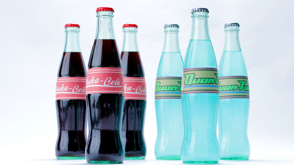 image about Nuka Cola Printable Labels titled Fallout 4 Nuka Cola Nerdy Nummies Rosanna Pansino