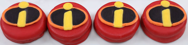 Incredibles Logo Cookies