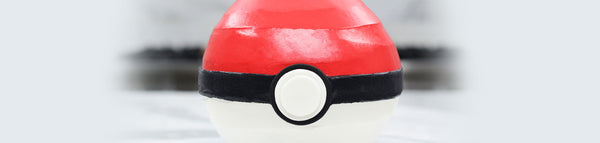 Pokemon Pokeball Cake
