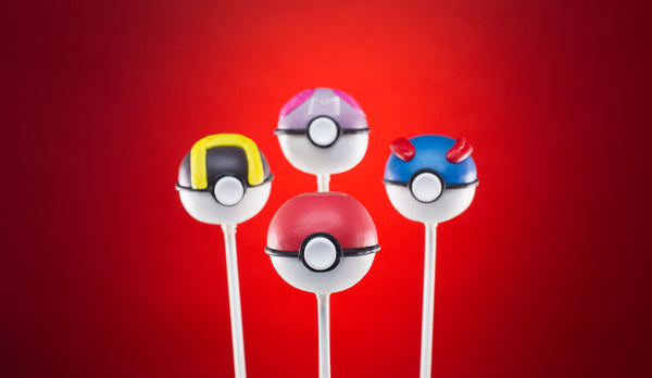 Pokemon Pokeball Pops