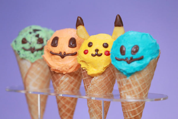 Pokémon Ice Cream Cones