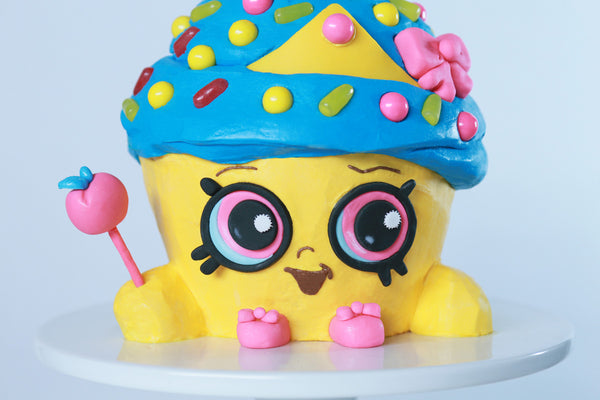 Shopkins Cupcake Queen Cake