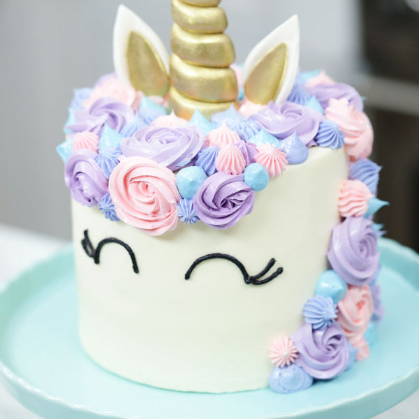 Pleasing How To Make A Unicorn Cake Rosanna Pansino Nerdy Nummies Funny Birthday Cards Online Inifofree Goldxyz
