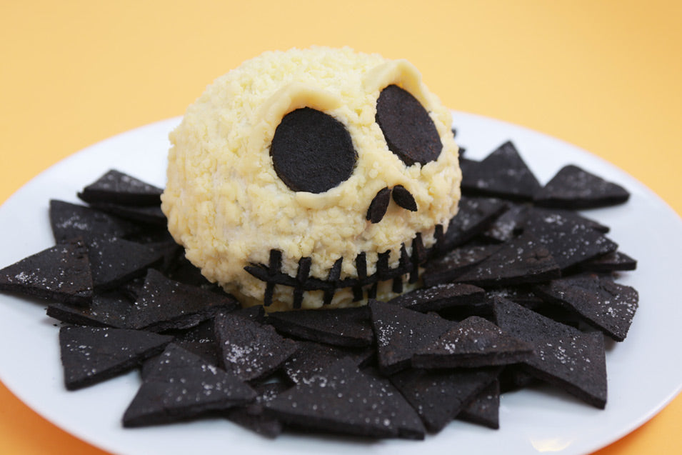 Jack Skellington Cheeseball