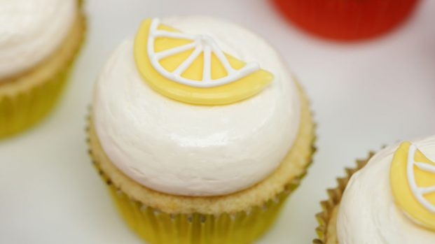 Lemon Cupcakes - Fruit Cupcakes