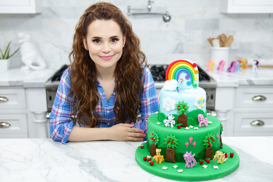 Rosanna Pansino Makes a My Little Pony Cake