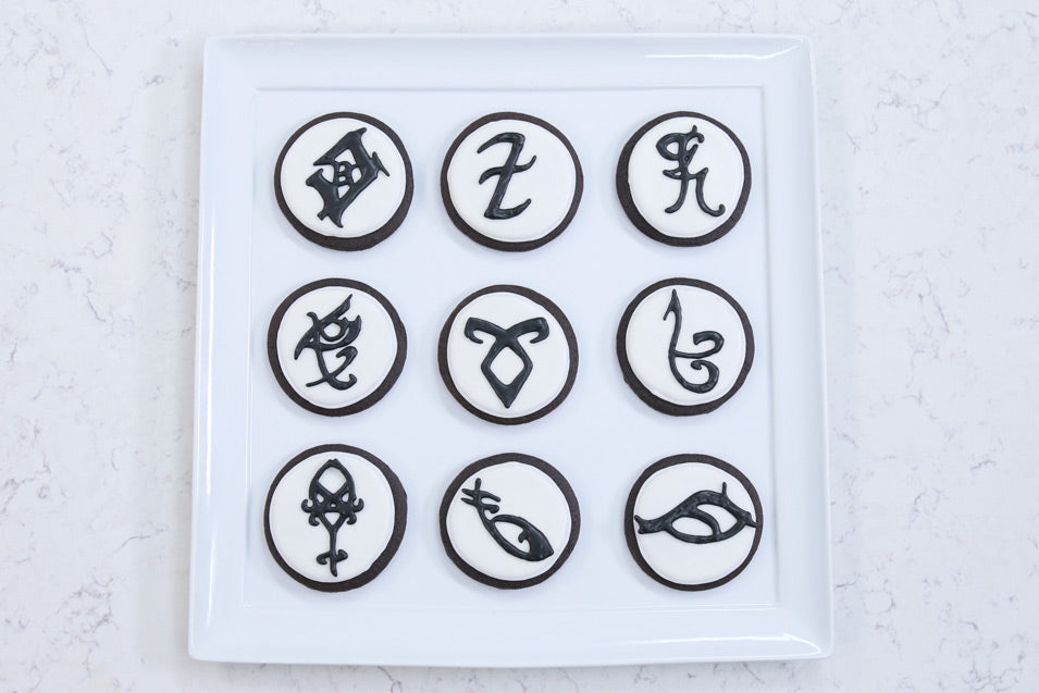 Shadowhunters Rune Cookies