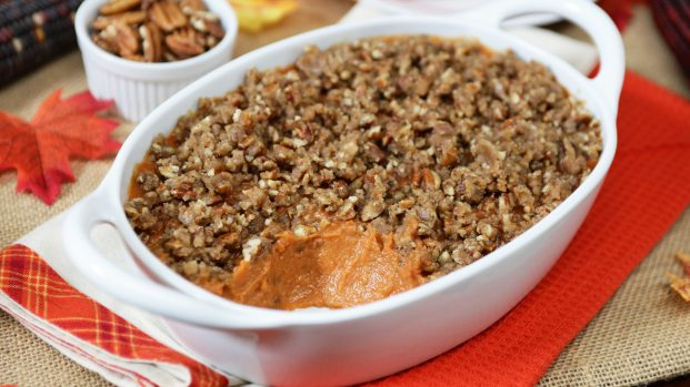 DIY Thanksgiving Dishes - Sweet Potato Mash