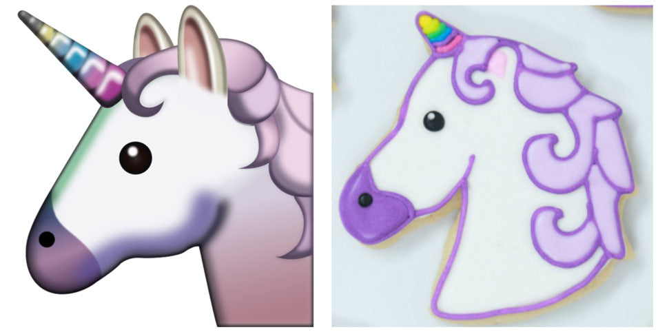 Rosanna Pansino and Lilly Singh make Unicorn Emoji Cookies on Nerdy Nummies