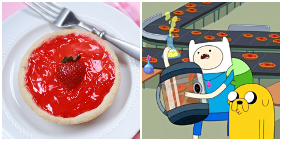 Adventure Time Royal Tarts from Nerdy Nummies