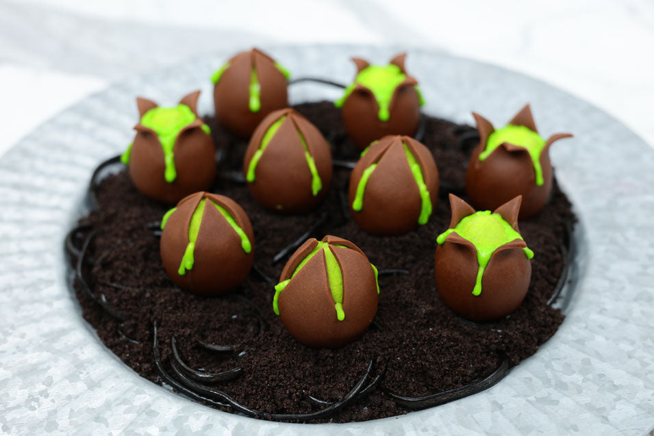 Alien Egg Cake Balls from Nerdy Nummies