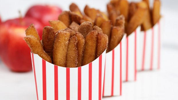 Apple Fries : Apple Treats recipes from Rosanna Pansino