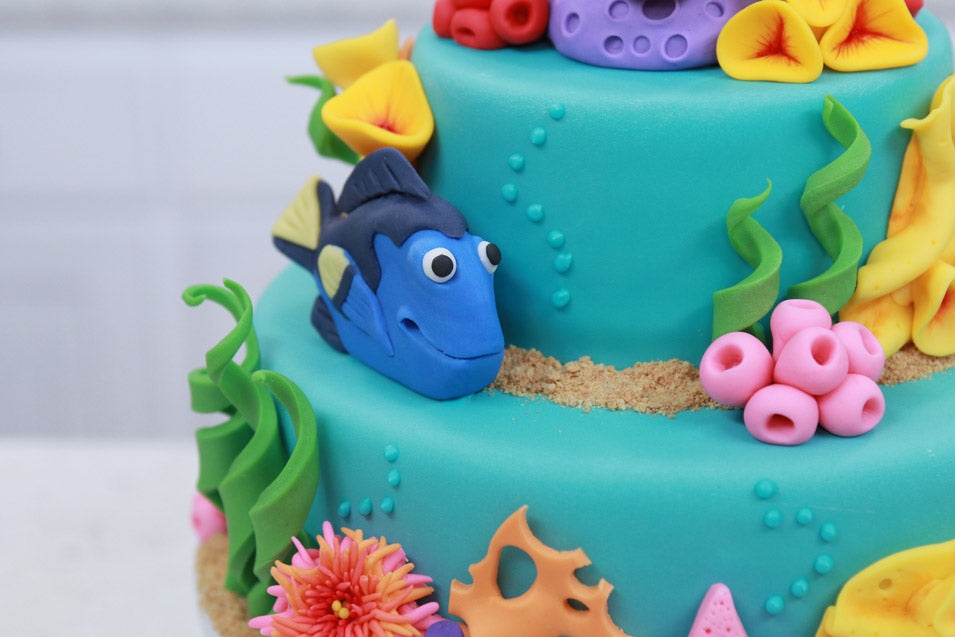 Finding Nemo Cake on Nerdy Nummies